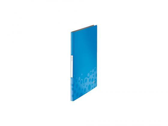 Папка с зажимом Kokuyo WE-FU320BL A4 20мм синий kokuyo kokuyo campus классический книжный переплет книги ноутбук мягкие рукописи в5 60 страница 4 случайный цвет в соответствии с настоящим аппаратом wcn cnb1610
