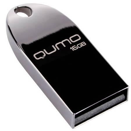 Купить Флешка USB 16Gb QUMO Cosmos USB2.0 Dark черный QM16GUD-Cos-d, Черный
