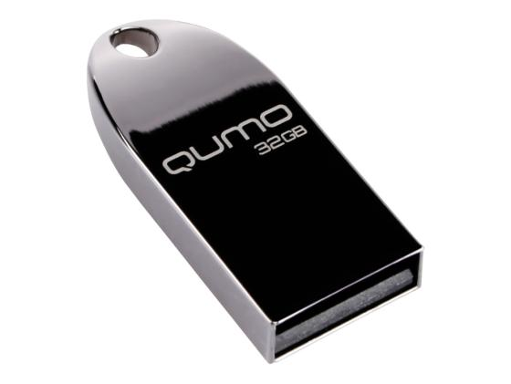 Флешка USB 32Gb QUMO Cosmos USB2.0 Dark черный QM32GUD-Cos-d
