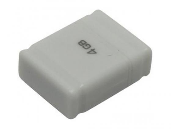 цена на Флешка USB 4Gb QUMO NanoDrive USB2.0 белый QM4GUD-NANO-W