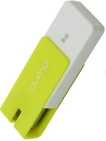Флешка USB 8Gb QUMO Click USB2.0 желтый QM8GUD-CLK-Lemon цена и фото