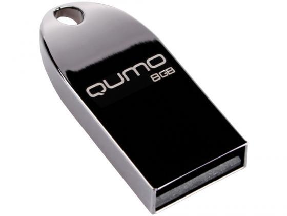 Флешка USB 8Gb QUMO Cosmos USB2.0 Dark черный QM8GUD-Cos-d стоимость