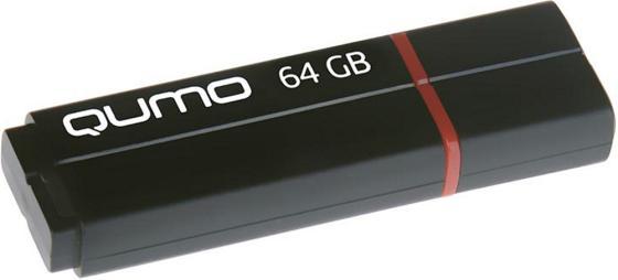 Фото - Флешка 64Gb QUMO QM64GUD3-SP-black USB 3.0 черный флешка usb 32gb qumo speedster usb3 0 черный qm32gud3 sp black
