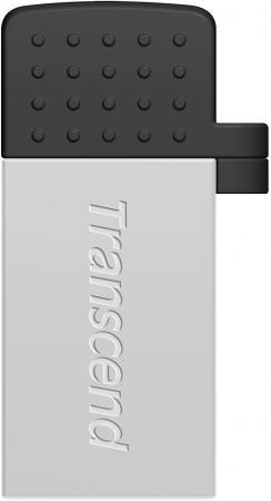 Флешка USB 8Gb Transcend Jetflash 380 TS8GJF380S серебристый цена и фото