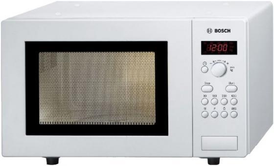 Микроволновая печь Bosch HMT75M421R 800 Вт белый микроволновая печь sharp r 2000rw 800 вт белый черный