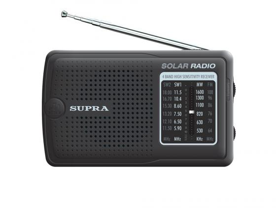Радиоприемник Supra ST-111 черный supra lc 19250wl black