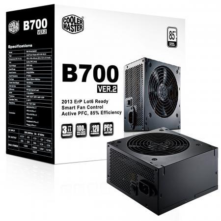 Блок питания ATX 700 Вт Cooler Master B700 ver.2 RS700-ACABB1-EU блок питания cooler master gm 750 750w rs750 amaab1 eu