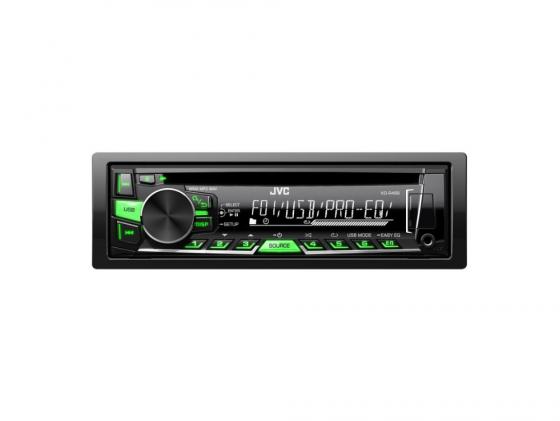 Автомагнитола JVC KD-R469EY(D) USB MP3 CD FM 1DIN 4x50Вт черный автомагнитола jvc kd r469ey d usb mp3 cd fm 1din 4x50вт черный