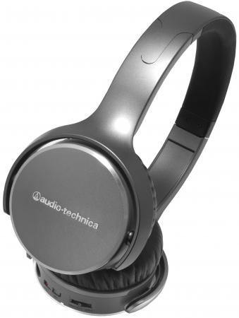 Наушники Audio-Technica ATH-OX7AMP серый вставные наушники audio technica ath ckb50 черный купон код jd1601 сумма покупок от 50$ скидка 5$ от 100$ скидка 10$