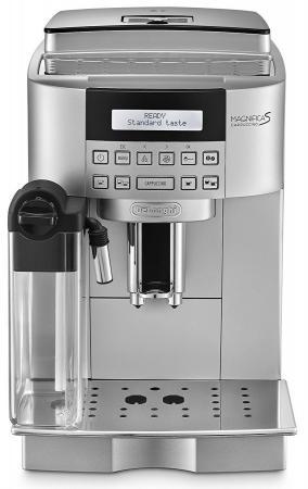 Кофемашина Delonghi ECAM 22.360.S 1450Вт 15бар 1.8л серебристый цена и фото
