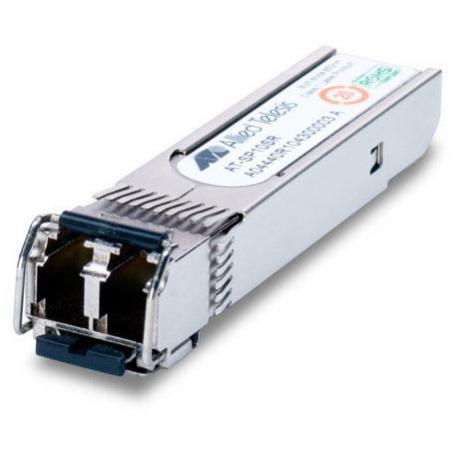 Трансивер Allied Telesis AT-SP10SR SFP+ 850нм до 300м  трансивер allied telesis at splx10 sfp pluggable optical module 1000lx10 10km single mode