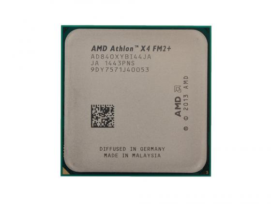 Процессор AMD Athlon X4 840 AD840XYBI44JA Socket FM2+ OEM процессор amd x4 fx 4330 4 0ггц 4mb fd4330wmw4khk socket am3 oem