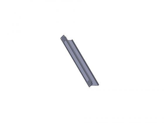 Купить Кабельный органайзер Estap E44ORG2FG 19 1U со щеткой серый, Органайзер