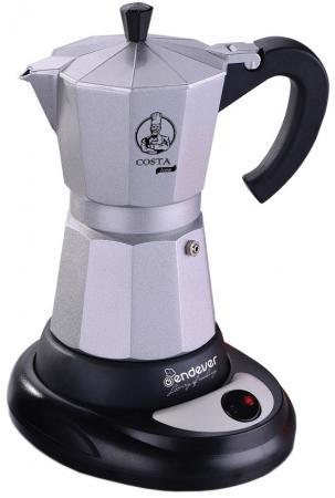 Кофеварка ENDEVER Costa-1010 480 Вт серебристый кофеварка endever 1040 costa 550 вт белый