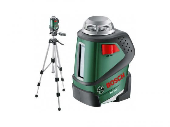 Лазерный нивелир Bosch PLL 360 + штатив уровень нивелир лазерный pll 360 set – штатив 20 м bosch