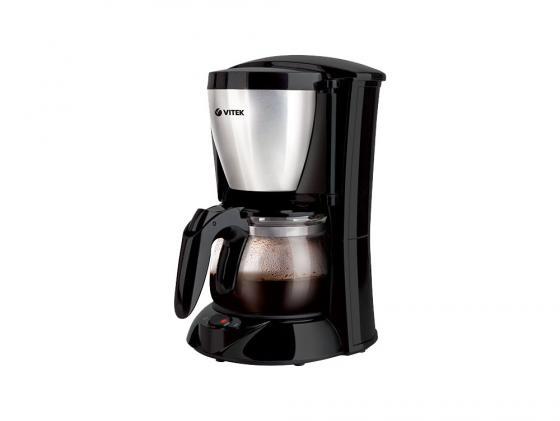 Кофеварка Vitek VT-1518(BK) кофеварка vitek vt 1518 bk