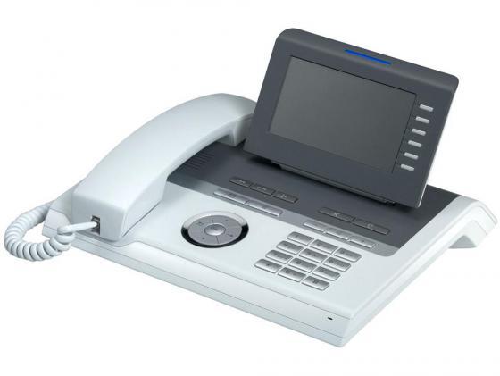 Телефон IP Siemens Unify OpenStage 40 HFA V3 прозрачный лёд L30250-F600-C246 телефон ip siemens unify openscape cp200 l30250 f600 c426