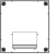 Пол Estap EUBP68G для шкафов Euroline 600х800 серый цоколь estap m11pnt68eu для шкафов euroline 600x800