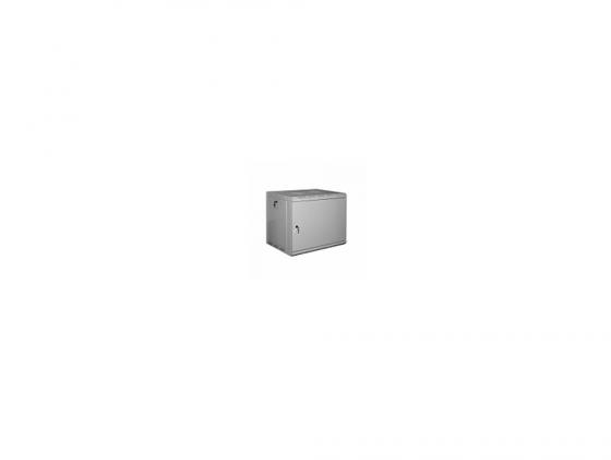 Шкаф настенный 19 7U Estap ProLine PRL7U56GF2 600x560mm серый шкаф настенный 19 16u estap proline prd16u56gf1 600x 160 450 mm дверь стекло с металлической рамой слева и справа серый