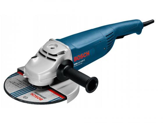Угловая шлифмашина Bosch GWS 22-230 H 2200Вт 230мм угловая шлифовальная машина bosch gws 20 230 h 0 601 850 107