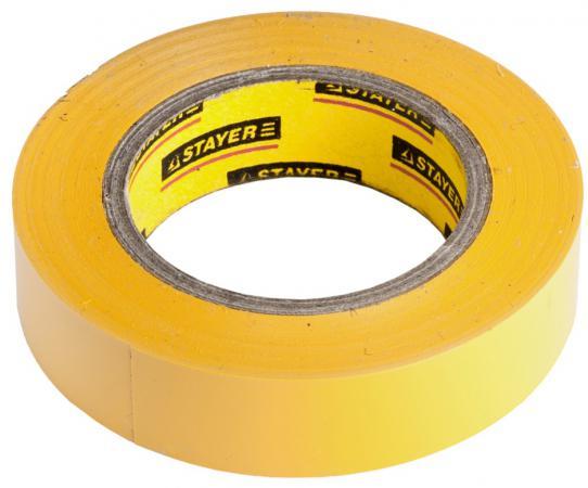 Изолента Stayer MASTER 15ммx10м желтый 12291-Y-15-10 молоток stayer master 2002 10