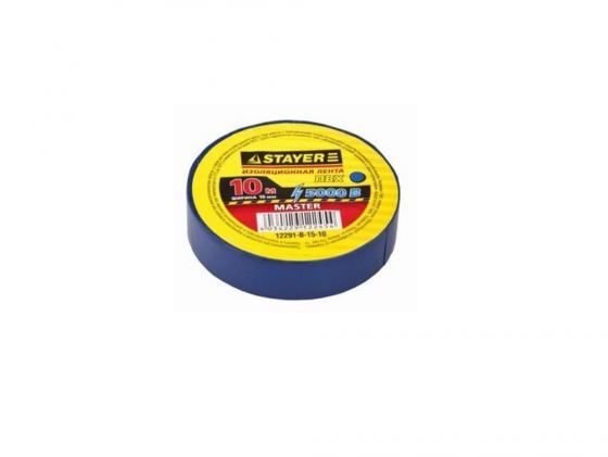 Изолента Stayer MASTER 15ммx10м черный 12291-D-15-10 молоток stayer master 2002 10