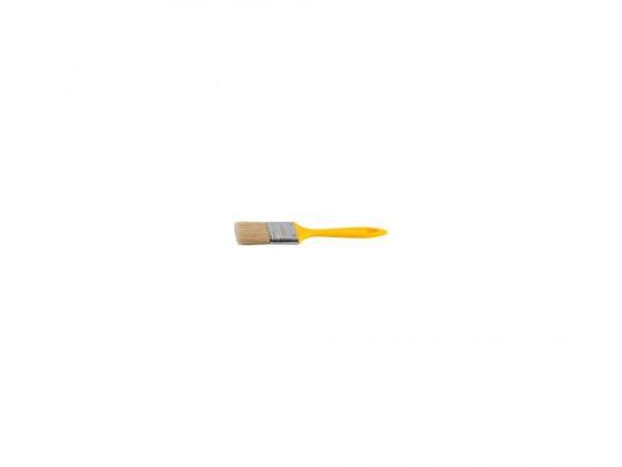 купить Кисть плоская Stayer UNIVERSAL-MASTER натуральная щетина пластмассовая ручка 75мм 0107-75-z01 дешево