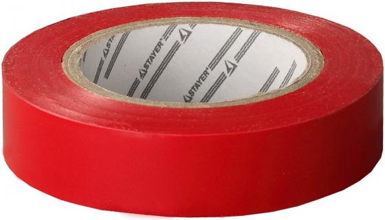 Изолента Stayer MASTER 15ммx10м красный 12291-R-15-10