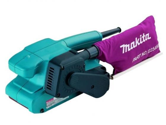 Ленточная шлифовальная машина Makita 9910K 650Вт + кейс шлифовальная машина makita bo6030