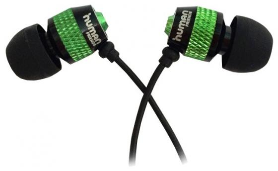 Наушники CBR Human Friends Groovy зеленый черный наушники cbr human friends melody черный