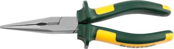 Тонкогубцы Kraftool KRAFT-МАХ 200мм 22011-3-20 бокорезы kraft max 180мм kraftool 22011 5 18