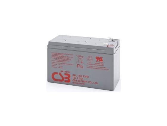 Батарея CSB GPL1272 F2FR 12V/7.2AH увеличенный срок службы до 10 лет
