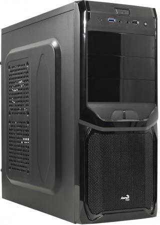Корпус ATX Aerocool V3X Advanced Black Edition 600 Вт чёрный 57578