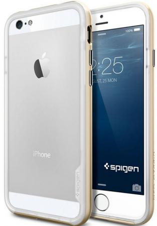 Бампер SGP Neo Hybrid EX Case для iPhone 6S Plus iPhone 6 Plus золотой SGP11061 neo hybrid