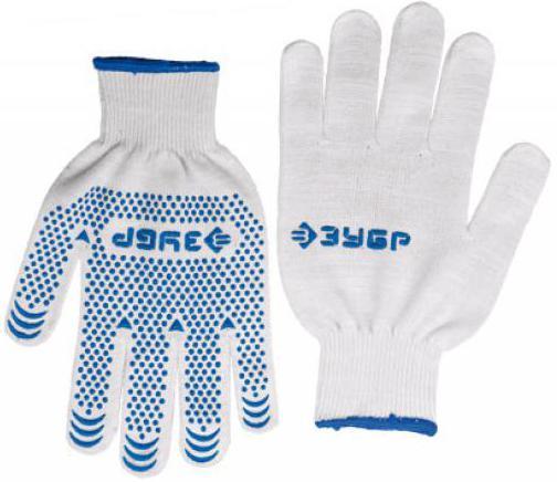 Перчатки Зубр ЭКСПЕРТ трикотажные 12 класс L-XL 11451-XL перчатки stayer мастер трикотажные 7 класс l xl 11405 xl