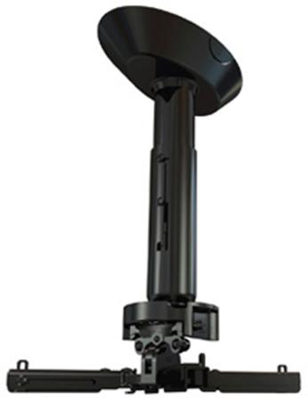 Фото - Крепеж Wize Pro PR11A потолочный универсальный наклон +/- 25° поворот +/- 6° вращение 360° карниз потолочный пластиковый dda поворот акант двухрядный серебро 2 8