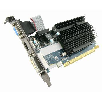 Видеокарта 1024Mb Sapphire R5 230 PCI-E GDDR3 64bit DVI HDMI HDCP 11233-01-20G Retail видеокарта 6144mb msi geforce gtx 1060 gaming x 6g pci e 192bit gddr5 dvi hdmi dp hdcp retail