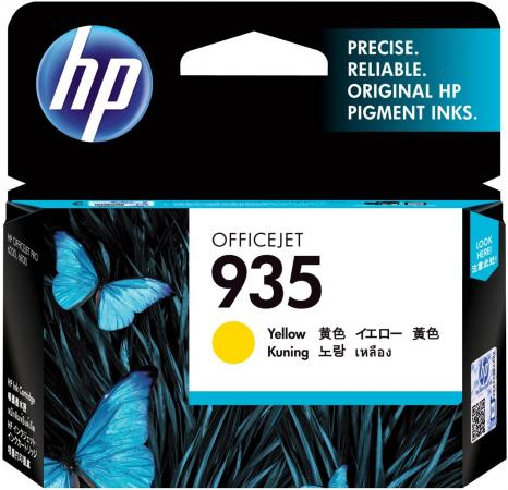 Картридж HP C2P22AE для Officejet Pro 6830 желтый картридж hp 935 yellow c2p22ae