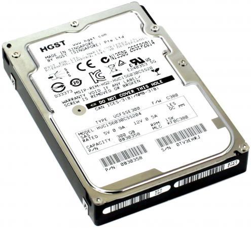 Жесткий диск 2.5 300Gb 15000rpm 128Mb cache Hitachi Ultrastar C15K600 SAS HUC156030CSS204 0B30358 жесткий диск 2 5 300gb 15000rpm 128mb cache hitachi ultrastar c15k600 sas huc156030css204 0b30358