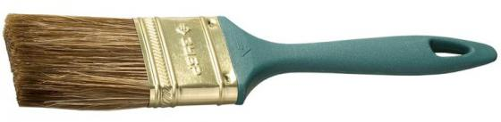 цена на Кисть плоская Зубр КП-14 смешанная щетина пластмассовая ручка 63мм 4-01014-063
