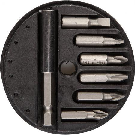 Набор бит Stayer MASTER 7шт 2607-H7_z01 набор резьбонарезной трубный stayer professional 28260 h4