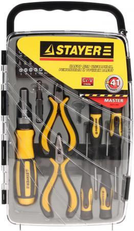 Набор отверточный Stayer MASTER 41шт 25311-H41 набор бит stayer master pocket 2 26087 h21