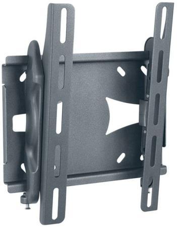 Кронштейн Holder LCDS-5010 черный металлик 20-40 настенный наклон до 45кг подставки для техники holder кронштейн lcds 5010 металлик