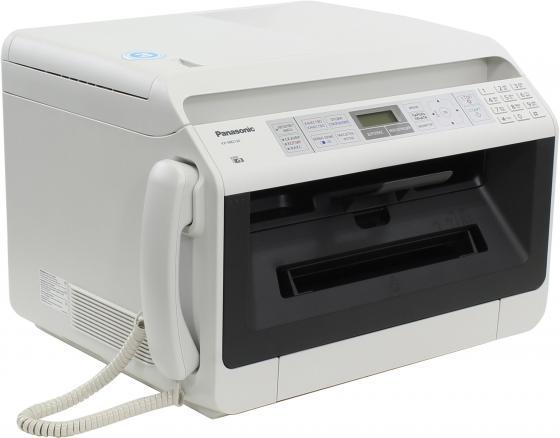 все цены на МФУ Panasonic KX-MB2130RUW ч/б A4 26ppm 600x600dpi автоподатчик факс Ethernet USB белый онлайн
