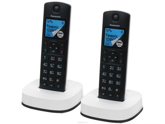 Радиотелефон DECT Panasonic KX-TGC312RU2 черный радиотелефон dect panasonic kx tg8161ruв черный