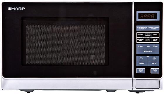 Микроволновая печь Sharp R2772RSL 800 Вт серебристый