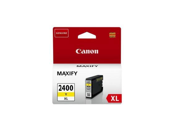 Фото - Картридж Canon PGI-2400XL Y для MAXIFY iB4040 МВ5040 МВ5340 желтый 1500стр картридж canon pgi 2400c xl 9274b001 для canon ib4040 мв5040 5340 голубой