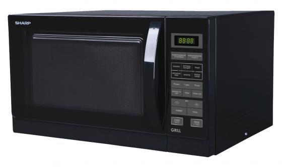 Микроволновая печь Sharp R7773RK 20л гриль 900Вт черный sharp r 2772rsl