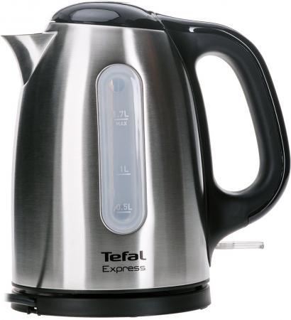 Чайник Tefal KI 230D30 2400 Вт серебристый 1.7 л металл чайник moulinex by540f30 2400 вт коричневый 1 5 л металл 7211002509