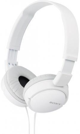 Наушники Sony MDR-ZX110WC белый цена